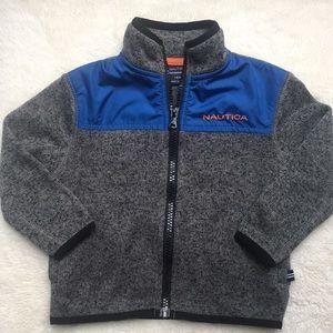Nautica zip up fleece
